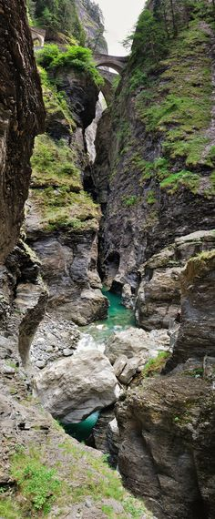 Via Mala Gorge, Switzerland near Thusis, Graubuenden. Breathtaking!