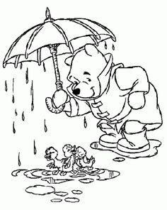 Winnie Pooh 11 Ausmalbilder
