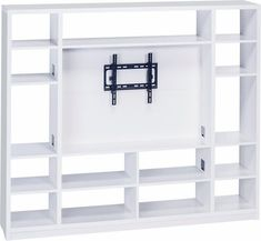 Carrier Entertainment Unit for TVs up to Living Wall, Furniture, Wall Bookshelves, Home, Flat Screen Tv Stand, Modern Room Divider, Bookcase, Wall Systems, Living Room Tv
