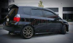 Honda#Fit driveable clean stance.