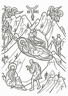 Free icons to color (scroll down to the bottom for Nativity)