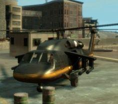 GTA 4 Annihilator Police Helicopter