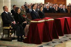 24/03/2014  Madrid, España   El Presidente del Gobierno, Mariano Rajoy asiste al funeral deEstado del ex Presidente del Gobierno, Adolfo Suárez en el Congreso de los Diputados.  Fotografía: Diego Crespo / Pool Moncloa  Presidencia del Gobierno