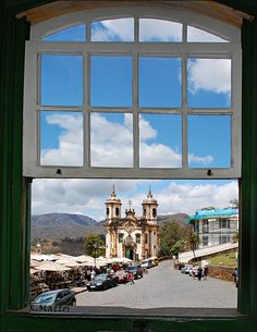 Window of a poet - Ouro Preto, Minas Gerais