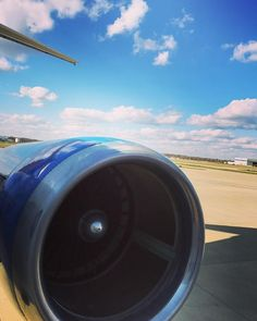 #indianapolis #airport #crewlife ✈️ Beautiful day here in Indianapolis! We're ready to go!
