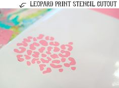 Free animal print Silhouette cut file - from Ashley #Silhouette #CutFile
