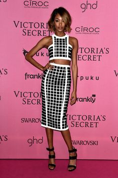 Jourdan Dunn at the Victoria's Secret Fashion Show Afterparty