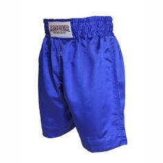 Solid Blue Boxing Shorts  $25.00