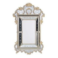 Galerie des Glaces Venetian Mirror  by The French Bedroom Company for the ultimate luxurious mirror in your home.