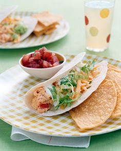 Salsa Egg Tacos by Martha stewart