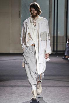 Yohji Yamamoto | Menswear - Spring 2017 | Look 7