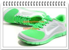 Free Shipping to Buy $68.99 Mens Womens Nike Free 4.0 V3 Grey Apple Green