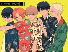 Hanako on – Gintama Manga Art, Manga Anime, Anime Art, Hayao Miyazaki, Kamui Gintama, Samurai, Teen Friends, Shingeki No Bahamut, Link Art