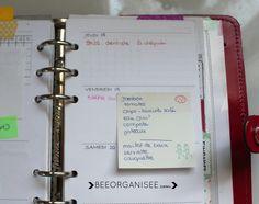 Organisation - planning - semaine