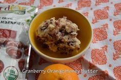 Cranberry Orange Compound Butter | Dr. Jean Layton-Gluten-Free Doctor