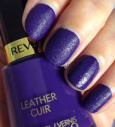 Revlon Uptown Tweeds & Downtown Leather Polish Collection | Cool Polish