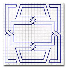 Blackwork Patterns, Blackwork Embroidery, Quilt Patterns, Graph Paper Drawings, Graph Paper Art, Pixel Pattern, Mandala Pattern, 3d Drawing Tutorial, Square Drawing