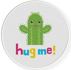 FREE for Nov 10th 2014 Only - Hug Me! Cross Stitch Pattern http://www.DailyCrossStitch.com