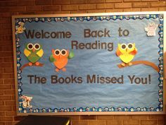 back to school bulletin boards for the library - Google Search