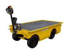 Heavy Duty Battery Electric Powered Flatbed Trolley, 1500kg Capacity