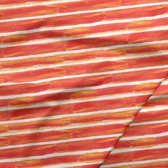 Paperskin Stripes in Sunset Basic Wear, Poppies, Stripes, Sunset, Fabric, Prints, Beautiful, Tejido, Tela