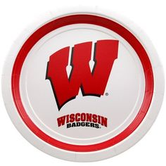 Wisconsin Badgers 10-Pack Dinner Plates #Ultimate Tailgate #Fanatics