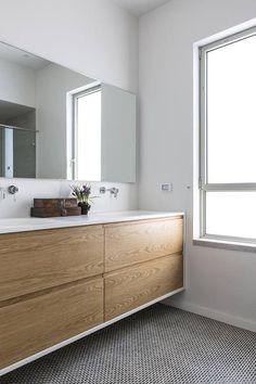 Bathroom Cabinets, Bathroom Storage, Modern Bathroom, Master Bathroom, Florida Home, Bathroom Inspiration, Interior Styling, Building A House, House Design