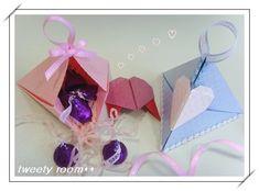 unique little origami box