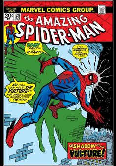 "The Amazing Spider-Man #128 ""The Vulture Hangs High"" (January, 1974)"