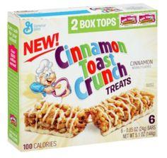 General Mills Cinnamon Toast Crunch Cereal Bars