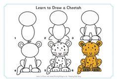Learn to Draw a Cheetah