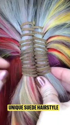 Simple Wedding Hairstyles, Easy Hairstyles, Origami Easy, Feathered Hairstyles, Hair Videos, Braids, Hair Beauty, Beauty Ideas, Hair Styles