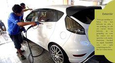 Exteriör Tvätta bilen är viktigt, och det är ännu viktigare efter vintern. Vägsalt, smuts och sot samlas på bilen under vintern. Om den lämnas kvar, kan det orsaka lackskador och rost. Låt inte bilens andrahandsvärde lida; tvätta bilen. #vinterdäcken