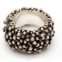 I don't wear a lot of jewelry but when I do, it's big, weird, shocking, peculiar rings