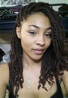 Kinky twist , I got this protective style after I dyed my hair . Kinky twist , I got this protective style after I dyed my hair . Kinky Twist Styles, Braid Styles, Short Marley Twists, Box Braids Hairstyles, Twist Hairstyles, Hairstyles 2016, Black Hairstyles, African Hairstyles, Hair