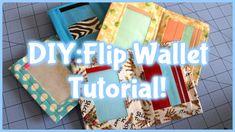 DIY:Duct Tape Flip Wallet Tutorial!