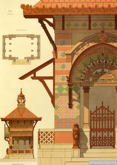 6 | Victorian Brick and Terra-Cotta Architecture - Викторианская кирпичная и терракотовая архитектура | ARTeveryday.org