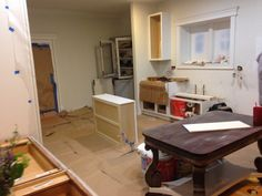 Kitchen is rolling along