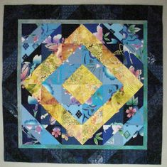 Yukata Blues by Karen Johnson. National Juried Show 2015 ~ Canadian Quilters' Association