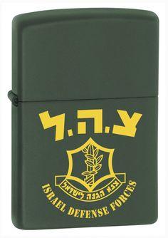 ZIPPO IDF GREEN MATTE LIGHTER-OD