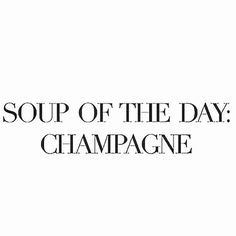 FRIYAY! Champagne!
