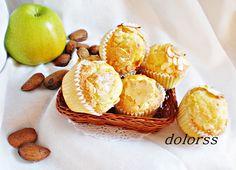 Blog de cuina de la dolorss: Magdalenas de manzana y almendras