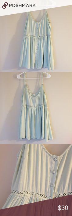 TOBI cami dress in seafoam Perfect for a summer day! 100% rayon, NWT Tobi Dresses Midi