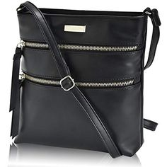 0c3ff2a869  34.99 - Leather Crossbody Purse for Women- Premium Crossover Cross Body  Bag Over the Shoulder