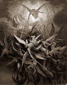 Caída de los ángeles malos