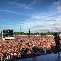 #SearchAndDestroy, PinkPop Festival, Holland. 15-06-2013