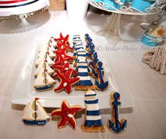 Cookies Nautical, Marinero by Atelier Pastry Fork