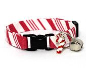 christmas cat collars on Etsy, a global handmade and vintage marketplace.