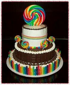 Lolly pops cake!