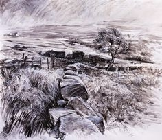 Robert Dutton Artist North Yorkshire, Painting & Drawing, Snow, World, Drawings, Creative, Artist, Outdoor, Frankfurt